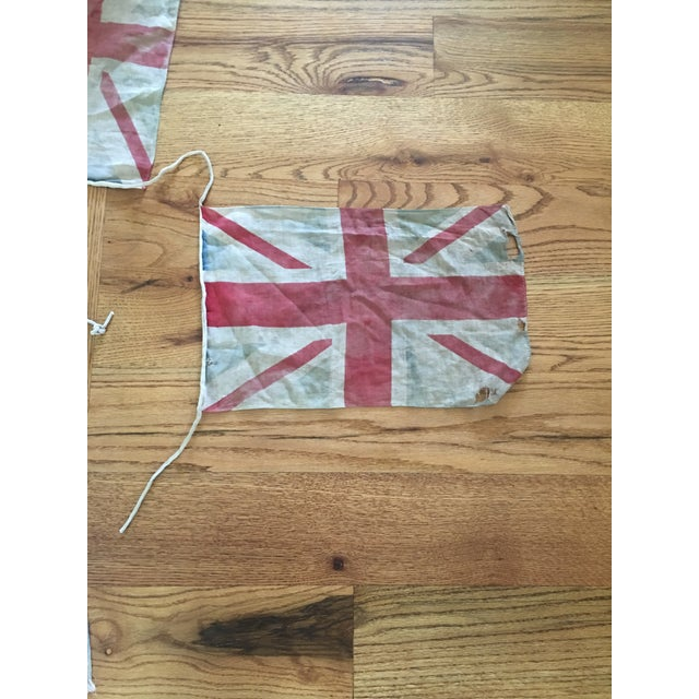1940s Vintage Union Jack Bunting For Sale - Image 5 of 8