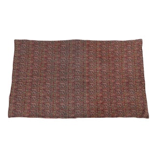 Antique Persian Throw For Sale