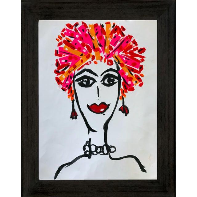 Pop Art Pop Art Tony Marine Contemporary Portrait Painting For Sale - Image 3 of 6