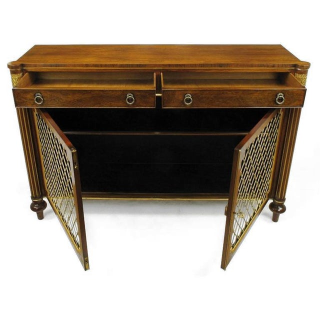 1980s Arthur Brett & Sons Regency Style Rosewood Sideboard For Sale - Image 5 of 10
