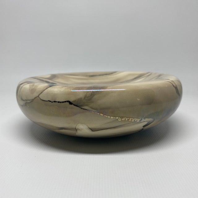 Ceramic Vintage Nieslen Ceramic Soap Dish For Sale - Image 7 of 13