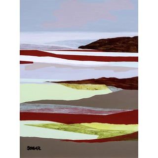 "Contemporary Fine Art Print, ""October Mist"", Angela Seear, 18"" X 24"" For Sale"