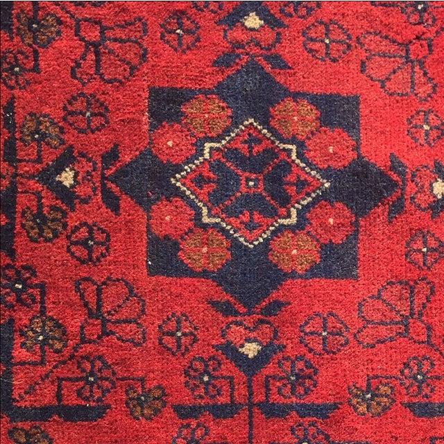 Turkaman Persian Rug - 1′10″ × 3′7″ - Image 5 of 9