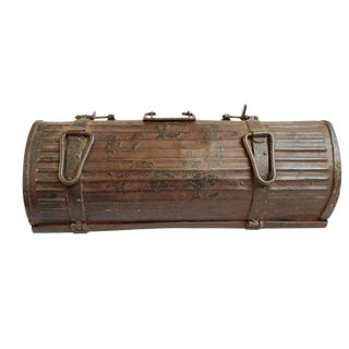 Vintage Iron India Gun Box For Sale