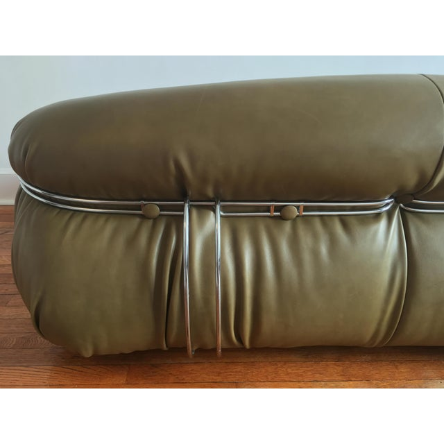 1970s Soriana Sofa by Afra & Tobia Scarpa for Cassina For Sale - Image 10 of 13