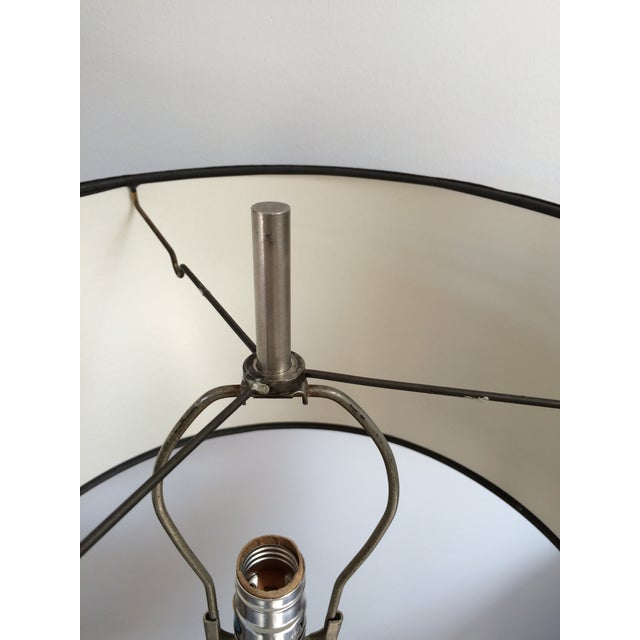 Nessen Chrome X-Base Table Lamp For Sale In Los Angeles - Image 6 of 6