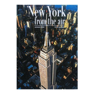 New York From The Air by Antonio Attini & Peter Skinner For Sale