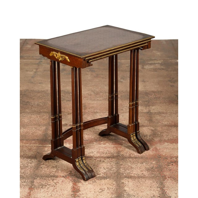 19th Century French Nesting Tables Set Of 3 Chairish
