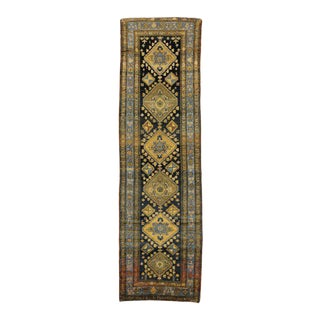 Antique Sarab Persian Runner with Modern Hollywood Regency Style