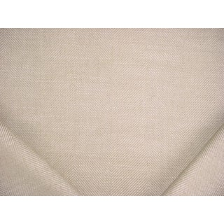 Traditional Ralph Lauren Barnswallow Herringbone Twine Upholstery Fabric - 2-7/8y For Sale