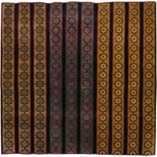 """Vintage Persian Kashan Rug – Size: 2' 3"""" X 2' 3"""" For Sale"""