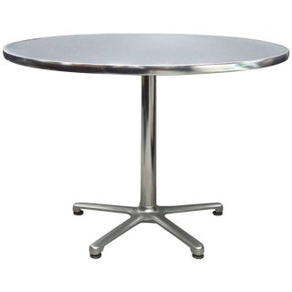 Jorge Pensi for Amat, SpainKnoll Aluminum Bistro Table For Sale