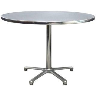 Jorge Pensi for Amat, SpainKnoll Aluminum Bistro Table For Sale