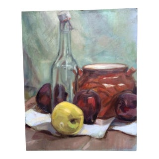 Original Still Life Oil Painting For Sale