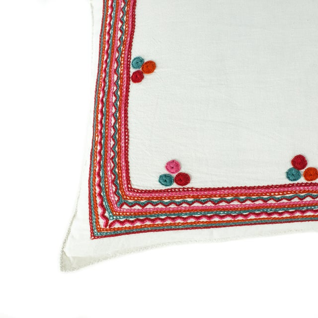 Chiapas Embroidered Pillow - Image 4 of 4