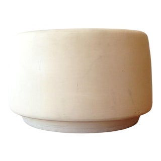 Architectural Pottery Bisque Tire Planter For Sale