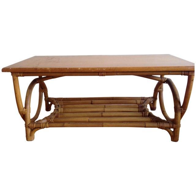 Rattan Coffee Table - Image 1 of 5