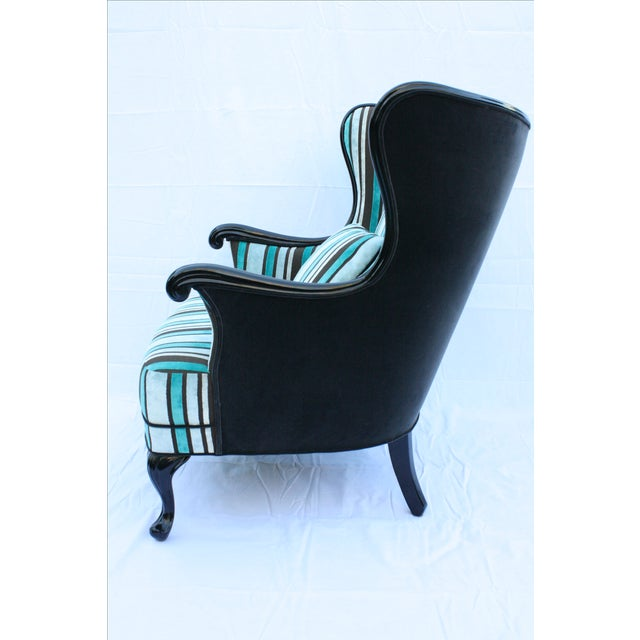 Vintage Round Wing Back Chair - Image 5 of 7
