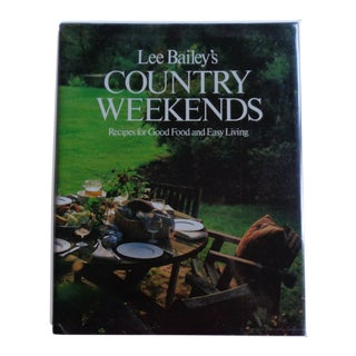 Vintage Country Weekends Book, Signed For Sale