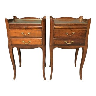 20th Century Louis Style Nightstands- a Pair For Sale