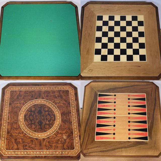 Italian Italian Game Table Set For Sale - Image 3 of 11