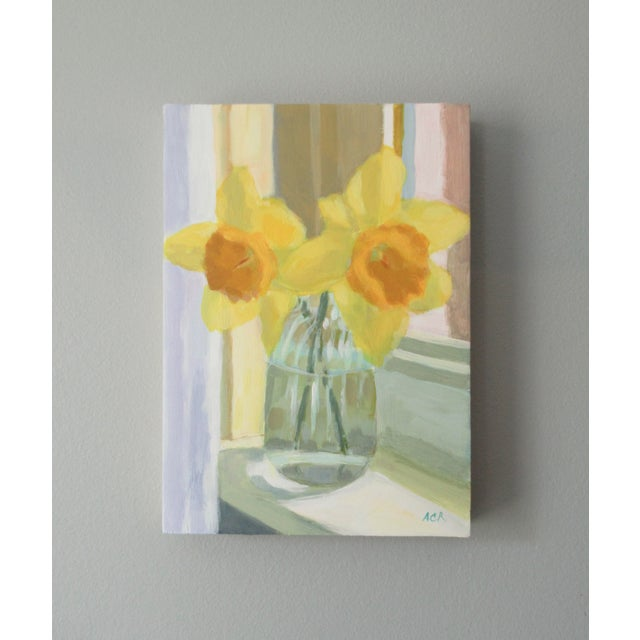 Two lovely daffodil painted from life. I was thinking about the french impressionists when I painted this. There's a...
