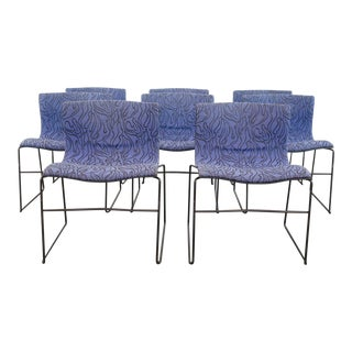 Set of 8 Vignelli Handkerchief Chairs For Sale