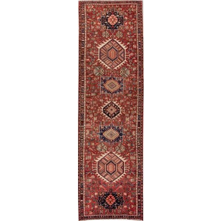 "Vintage Heriz Runner - 4' x 14'1"" For Sale"