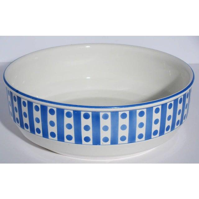 Large Belgian Porcelain Pitcher and Bowl - Image 9 of 9