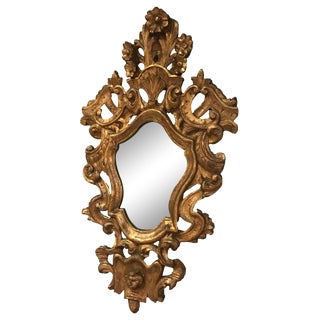 19th Century Italian Gilt Mirror For Sale
