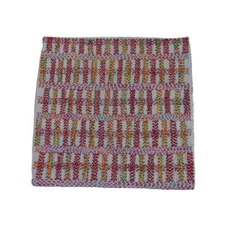 Staprans Design Embroidered Silk Pillow Sham For Sale
