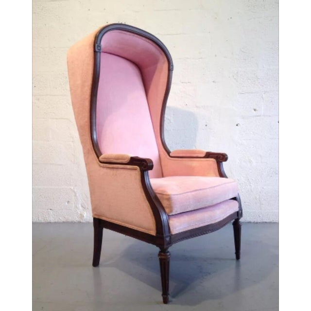 Vintage Pink French Canopy Chair - Image 2 of 7