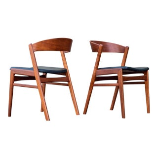 1960's DUX Ribbon-Back Chairs - A Pair