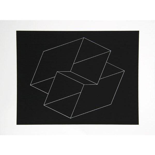 "Josef Albers ""Portfolio 2, Folder 10, Image 1"" Print - Image 2 of 3"