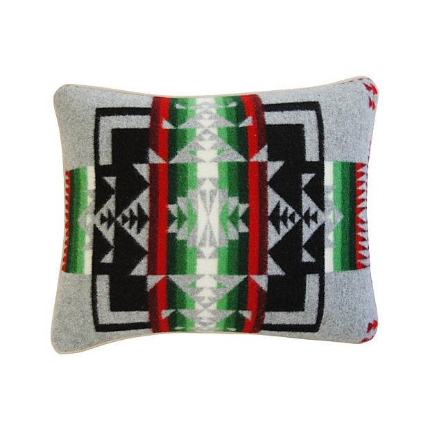 Custom Chief Joseph Pendleton Blanket Pillow - Image 7 of 7