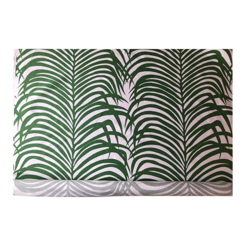 Zebra Palm for Schumacher Fabric- 4 Yards For Sale