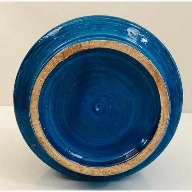 Aldo Londi for Bittosi Rimini Blue Vase For Sale In Washington DC - Image 6 of 7