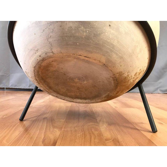 Vintage John Follis for Architectural Pottery Fx Planter With Ms-Fx Stand For Sale - Image 9 of 12
