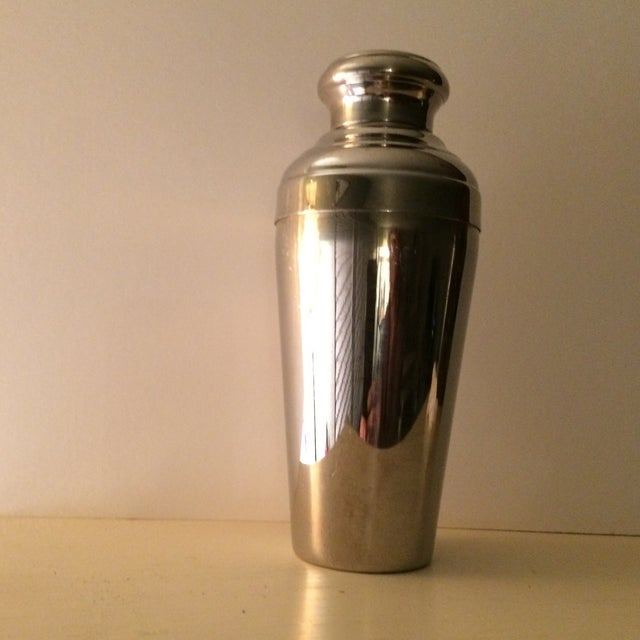 Vintage 22 Ounce Stainless Steel Cocktail Shaker - Image 3 of 11