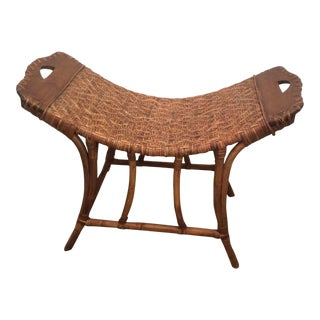 Rattan Bench For Sale