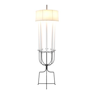 Tommi Parzinger Iron Eight Arm Floor Lamp For Sale