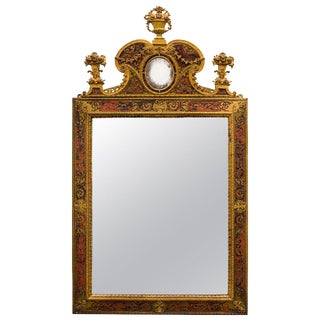 Napoleon III Ormolu Boulle Mirror For Sale