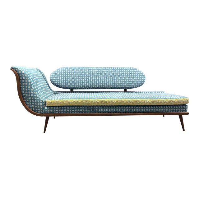 Remarkable Vintage Mid Century Chaise Lounge Creativecarmelina Interior Chair Design Creativecarmelinacom