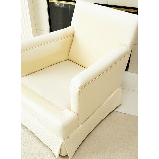 Mid-Century Modern Tailored Cushion Arm Chair - Image 4 of 9