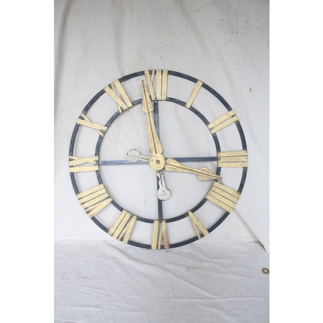 19th Century Belgian Clock Skeleton Face For Sale - Image 9 of 9