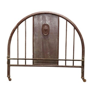 Metal Floral Bed Headboard For Sale