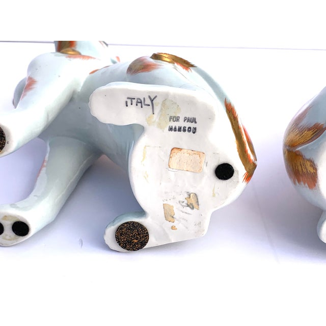 Paul Hanson Italy, Chinoiserie Dogs - a Pair For Sale In Naples, FL - Image 6 of 8