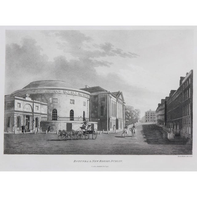 Engraved Views of Dublin Ireland by James Malton - Set of 25 For Sale - Image 9 of 13