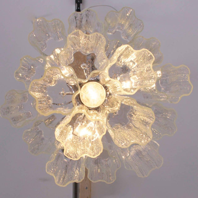High quality Murano glass chandelier, which brings wonderful lighting atmosphere in every room. The chandelier has...