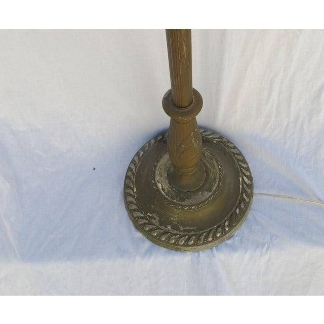 Antique 1920s Torch Floor Lamp - Image 5 of 7